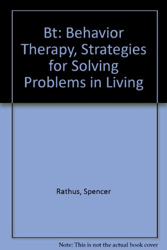 9780451143075: BT Behavior Therapy