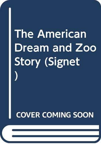 9780451143303: Albee Edward : American Dream & the Zoo Story