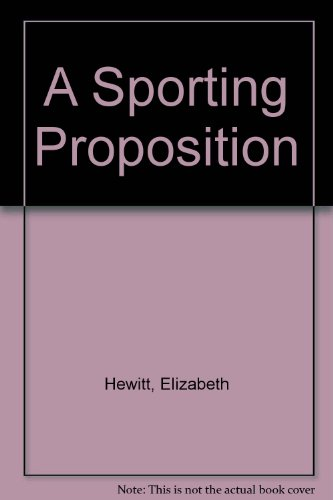 9780451143518: A Sporting Proposition