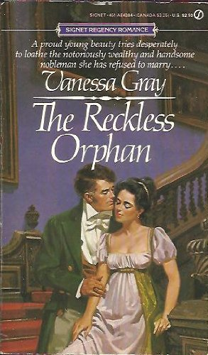 Reckless Orphan (0451143841) by Vanessa Gray