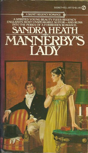 9780451144393: Mannerby's Lady