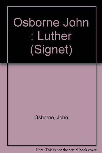 9780451144744: Luther (Signet)