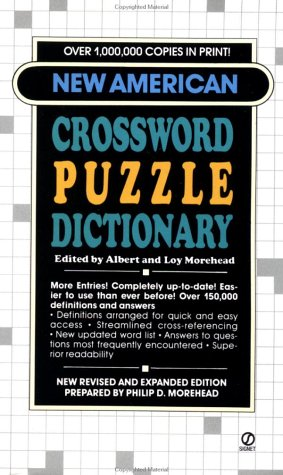 New American Crossword Puzzle Dictionary: Albert and Loy