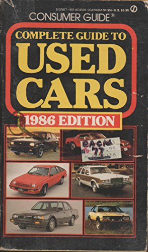 9780451145086: Used Cars Consumer Guide 1986