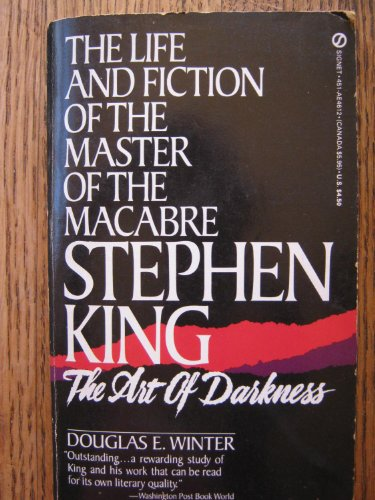 9780451146120: Stephen King: The Art of Darkness