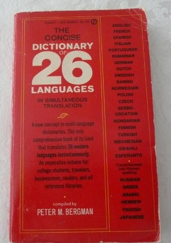 9780451146854: Concise Dictionary of 26 Languages (Signet)