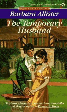 9780451147455: Temporary Husband (Signet Regency Romance)