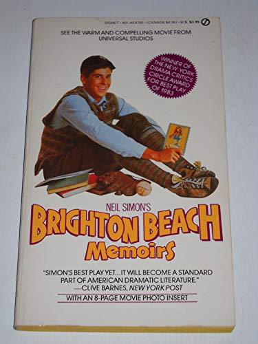 9780451147653: Brighton Beach Memoirs (Signet)