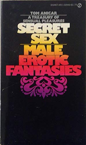 9780451148155: Secret Sex: Male Erotic (Signet)
