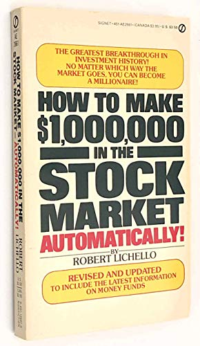 9780451149503: Lichello Robert : How to Make [1, 000, 000 in Stock Market (Signet)