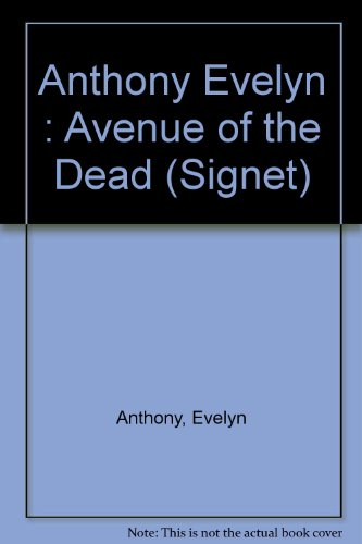 9780451152213: Avenue of the Dead (Signet)