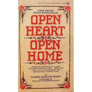 9780451152558: Open Heart, Open Home