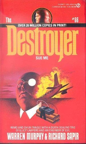 9780451152787: Destroyer 066: Sue Me