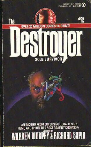 9780451153593: Sole Survivor (Destroyer, No. 72)