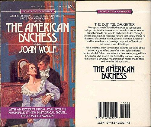 9780451153647: American Duchess (Signet Regency Romance)