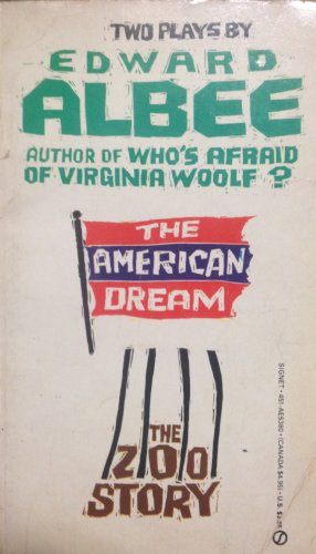 9780451153807: The American Dream and Zoo Story (Signet)