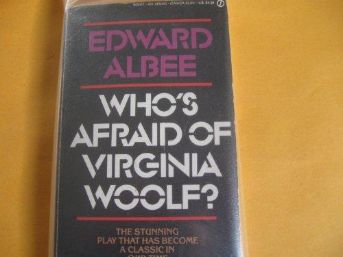 9780451154408: Albee Edward : Who'S Afraid of Virginia Woolf? (Signet)