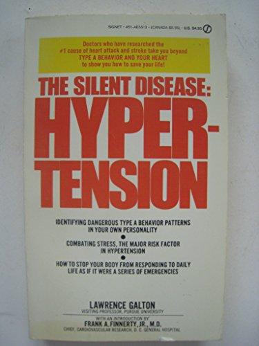 9780451155139: Silent Disease: Hypertension