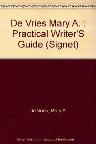 9780451155276: Practical Writer's Handbook (Signet)