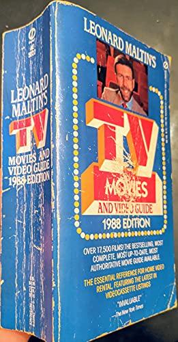 9780451155627: Leonard Maltin's TV Movies and Video Guide 1988 (Signet)