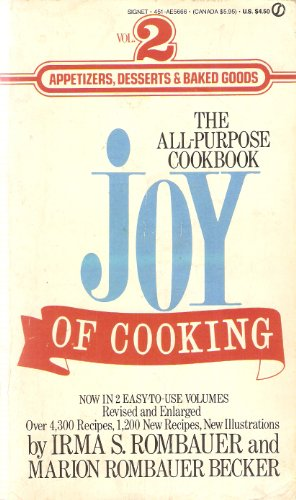 9780451156662: Rombauer & Becker : Joy of Cooking Volume Two (Signet)