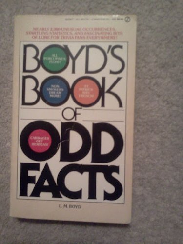 9780451157379: Boyd's Book of Odd Facts