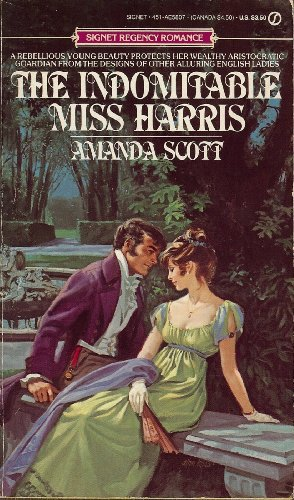9780451158079: The Indomitable Miss Harris (Signet)