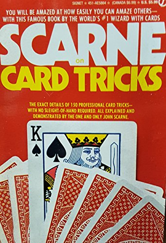 9780451158642: Scarne on Card Tricks (Signet)