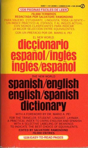 9780451159946: The New World Spanish/English, English/Spanish Dictionary (Signet)