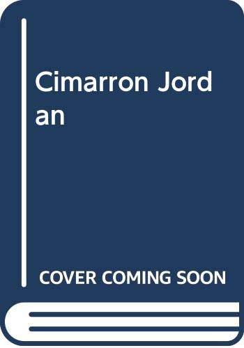 Cimarron Jordan: Matt Braun