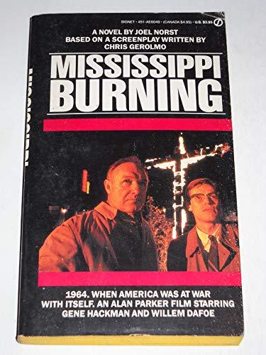 9780451160492: Mississippi Burning
