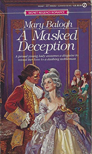 9780451160621: A Masked Deception (Signet)