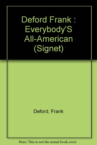 9780451160904: Everybody's All-American (Signet)