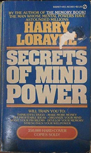 Secrets of Mind Power (Signet): Lorayne, Harry