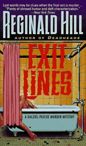 9780451161666: Hill Reginald : Exit Lines (Signet)