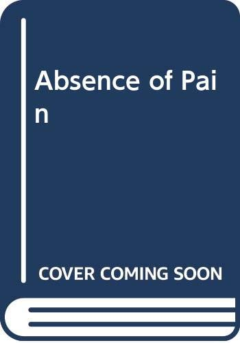 9780451162151: Absence of Pain (Signet)