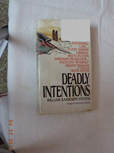 9780451162557: Deadly Intentions