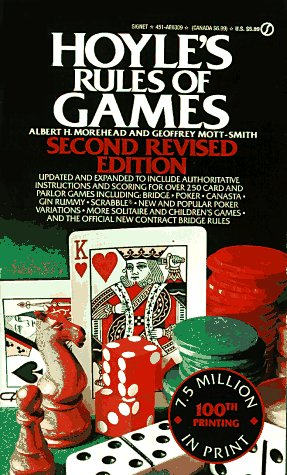 Hoyle's Rules of Games: Second Revised Edition (Signet) (0451163095) by Albert H. Morehead; Geoffrey Mott-Smith