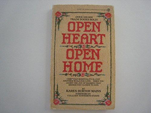9780451165190: Open Heart, Open Home