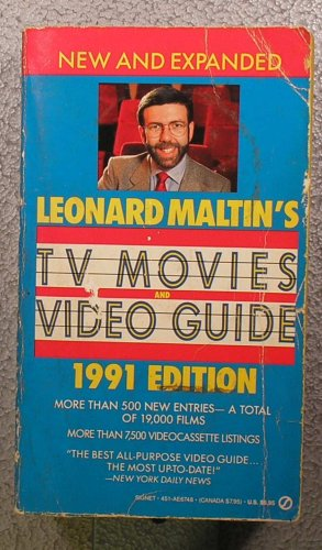 9780451167484: Leonard Maltin's TV Movies and Video Guide 1991 (Signet)