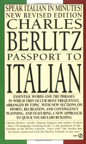 9780451167644: Passport to Italian (Berlitz Travel Companions)
