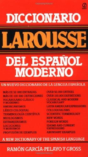 9780451168092: Diccionario Larousse del Espanol Moderno = A New Dictionary of the Spanish Language (Signet)