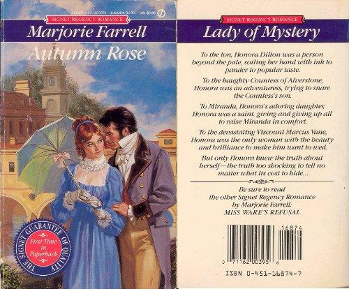 9780451168740: Autumn Rose (Signet Regency Romance)
