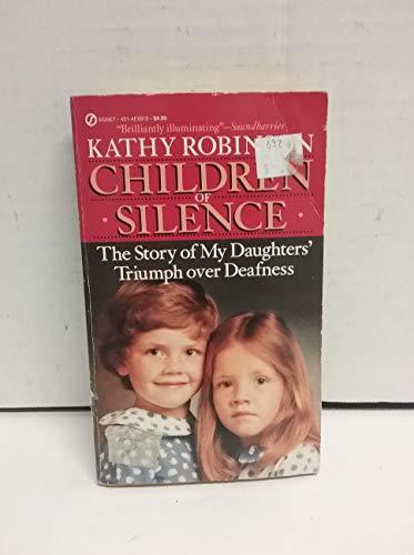 9780451169198: Children of Silence (Signet)