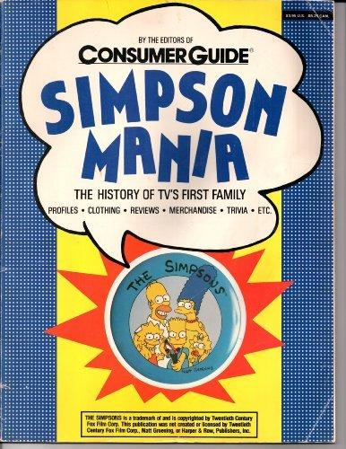 9780451169495: Simpson Mania