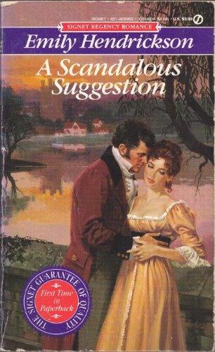 9780451169921: A Scandalous Suggestion (Signet Regency romance)
