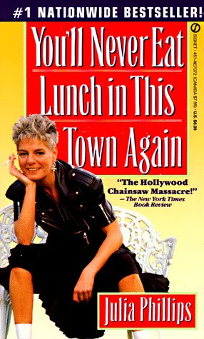 9780451170729: You'll Never Eat Lunch in This Town Again