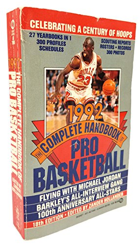 9780451170958: The Complete Handbook of Pro Basketball 1992: 1992 Edition (Signet)