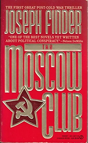 9780451171191: Finder Joseph : Moscow Club (Signet)