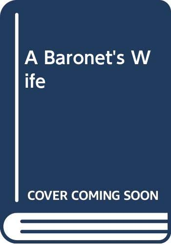 9780451171283: A Baronet's Wife